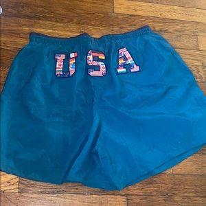 Speedo men's swim trunks USA 1996 Olympics Atlanta